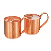Plain Copper mug Inside Copper