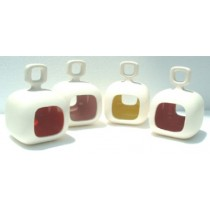Ceramic Votive Holder, Square Shape