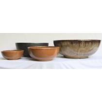 Matte Black Ht 22cm Ceramic Planter