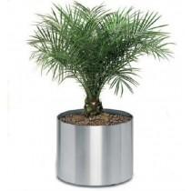 Circular Silver Planters Size 30 cm X 30cm