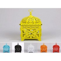 Colored mini iron lantern size-8""
