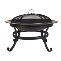 Metal Fire pit for outdoor patio,  24 x 16.9H