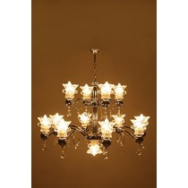Contemporary Lamps With Crystals Chandelier