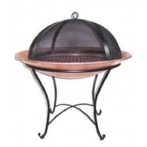 Contemporary Round Fire pit