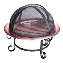 Copper Antique Fire Pit