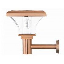 Copper lamp body Solar Super Bright Wall Light (PIR optional)
