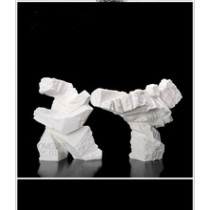 Creative sandstone action figure home decoration (A)