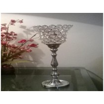 crystal candle holder
