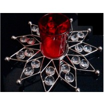 Crystal T-lite Holder