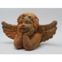 Cute Angel Rustic Cement Ornaments