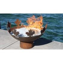 Cutout Design Durable Large Steel Fire Pit Bowl