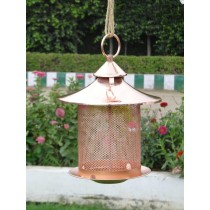 Copper Color Metal Hook Hanging  Bird Feeder
