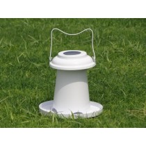 White Plastic Coating  Bird Feeder