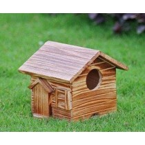 Wooden Texture Designer Bird House