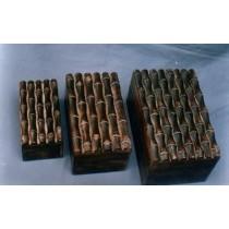 Square Dark Brown Wooden Finish Handicraft Box(6'' x 4'')