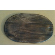 Dark Wooden Texture Chopping Board 15'' x 10''