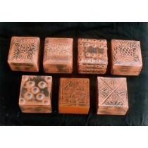 Decorative Metallic Work & Designer Square Wooden Box