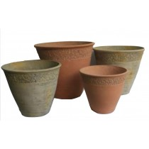 Decorative 35cm Height Cement Pots