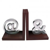 Decorative Bookends @ and &