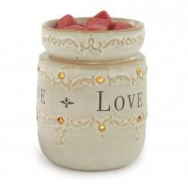 Decorative Ceramic Illumination Candle Warmer Set of 2 Pcs