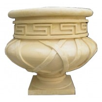 Decorative Hand Carved Modern Design Flowerpot
