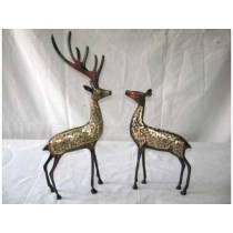 Deer Pair Disco Work 10""