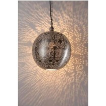 Deziworkz ball shaped with heart etching  hanging lamp