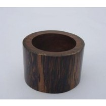 Wooden Napkin Ring Natural Finish (3.5 cm. Width)