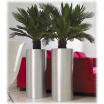 Stainless Steel Pillar Planters Size 30 cm X 60 cm
