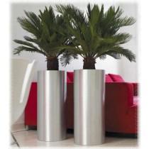 Stainless Steel Pillar Planters Size 30 cm X 60 cm