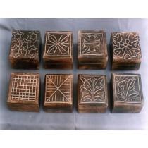 8 Different Decorate Design Square Mango Wooden Box