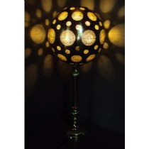 Disco Ball Table Lamp with Base  Size:  30X30X72 cm