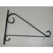 Black Designer Wall Bracket
