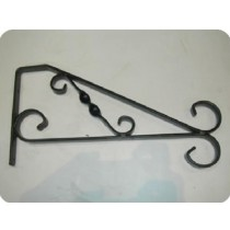 "Heavy Duty  Hanging Basket brackets 12"" L x 6"" H"