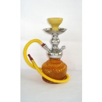12.5'' Yellow Hookah Econo QT Pattern