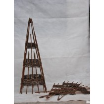 120 cm Height Willow Obelisk