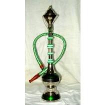 12'' Modern Style  Acrylic & Brass Mini Hookah