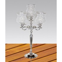 142 X 56 Cm Decorative Crystal 5 Arm Candelabras