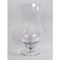 14''  Candle Holder Hurricane Glass