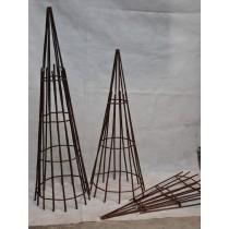 150*40*40 cm Willow Obelisk