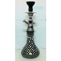 17'' Multicolored New Designer Mirror Pattern Hookah