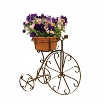 1 - Tiers Metal Bike Design Planter Stand