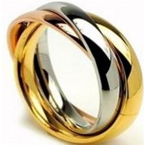 2.5cm Metal Brass Round Napkin Ring