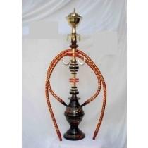 24'' Decorative Vase Style Pair Hose Hookah