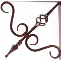 24 Inch Iron Hanging Basket Bracket
