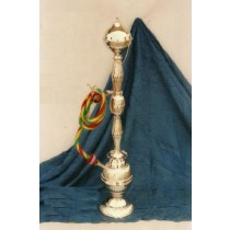 27'' Decorative Brass Salaidar Single Hose Hookah