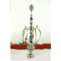 33'' Decorative Brass & Wooden Darmiani Hookah
