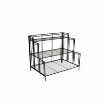 3 - Tier Shelf Black Steel Plant Stand