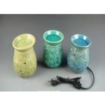 3 Colored Ceramic Electric Wax Warmer With line(Set Of 3)