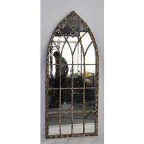 3 Corner Decorative Curved Large Metal Wall Mirror